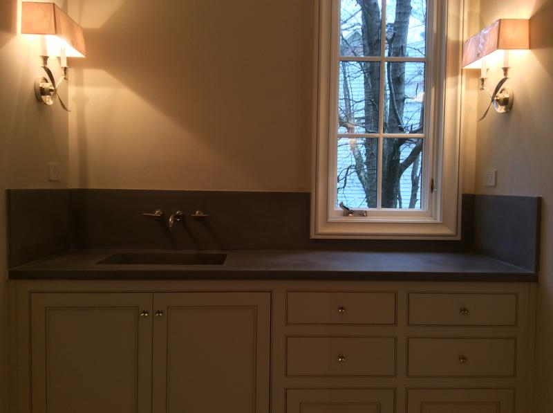 Custom concrete countertops Atlanta